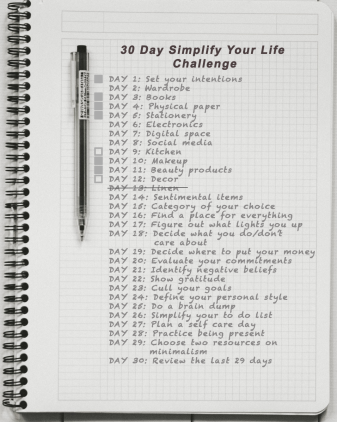 Day 6: Simplify your life - kitchen and decor