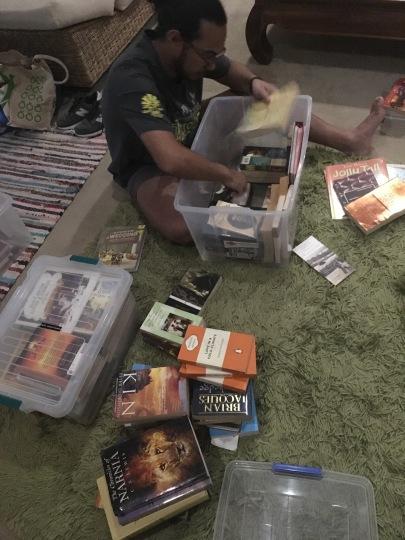 Book Declutter Process