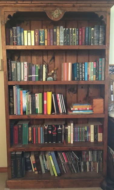 Decluttered Bookcase