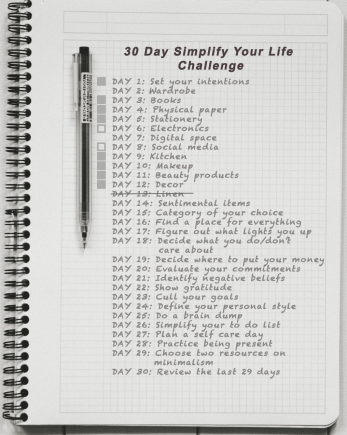 Day 7: Simplify your life - electronics and social media