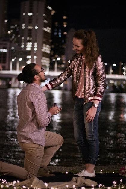 When we got engaged