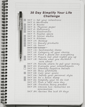 Day 13: Simplify Your Life - Identify negative beliefs