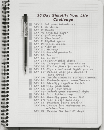 Day 14: Simplify your life challenge - show gratitude