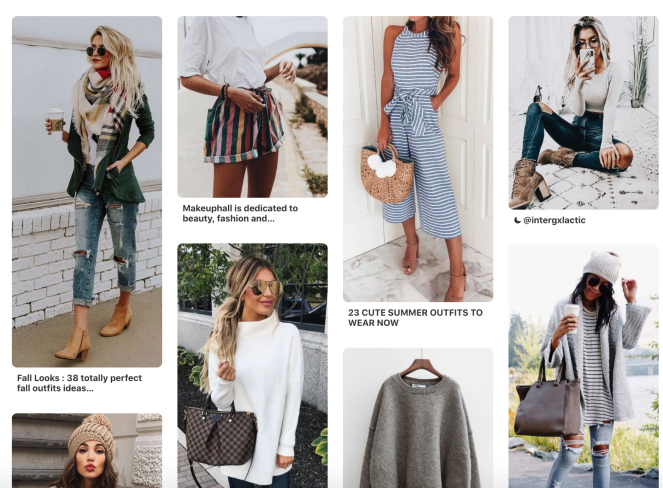 Casual Style Pinterest Board